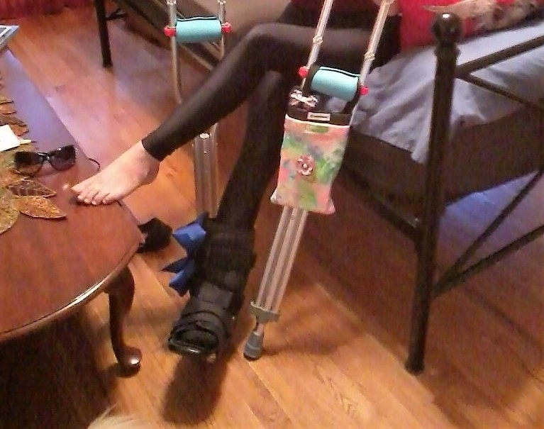 Glam Crutches